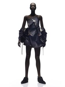 Dress and bolero Issey Miyake (Japanese, born in 1938) Japanese, 2014 *Clothing by Reality Lab, Miyake Design Studio 2010 *Photo by Hiroshi Iwasake *Courtesy, Museum of Fine Arts, Boston